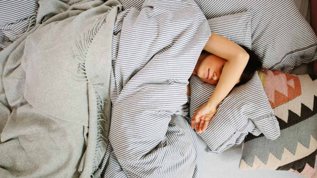 ngủ sâu giấc
