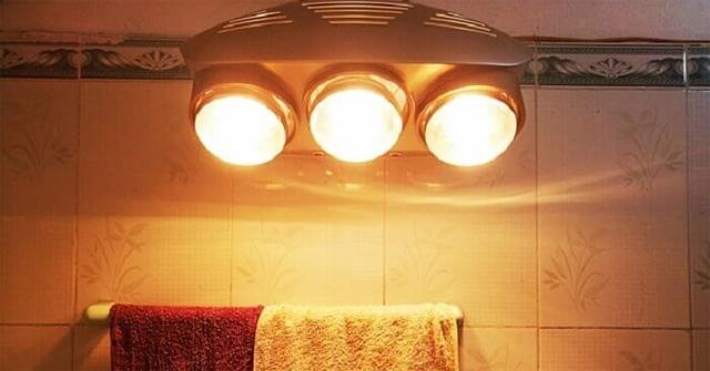 Sử dụng đèn sưởi trong nhà tắm: Muốn an toàn cần tránh mắc phải những sai lầm nào? - Ảnh 4.