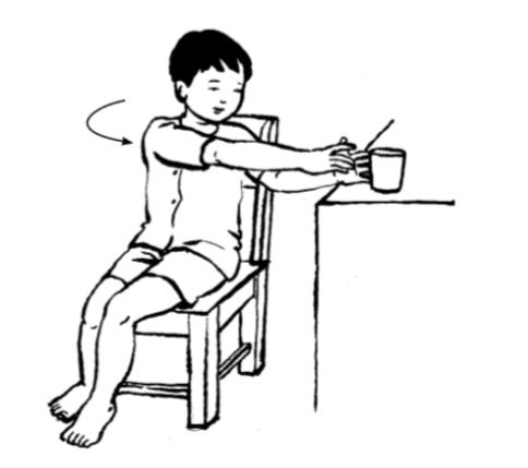 Các bài tập giúp phục hồi chức năng cho trẻ bị cong vẹo cột sống - Ảnh 3.