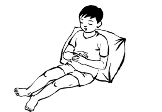 Các bài tập giúp phục hồi chức năng cho trẻ bị cong vẹo cột sống - Ảnh 7.