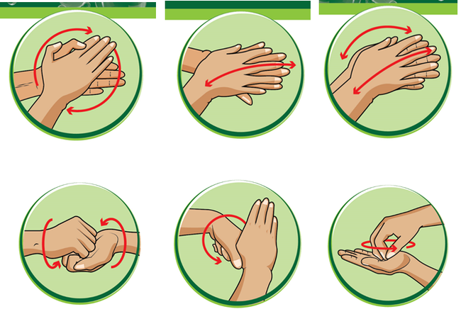 5 thời điểm rửa tay 1