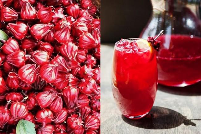 Cách ngâm rượu hoa atiso đỏ
