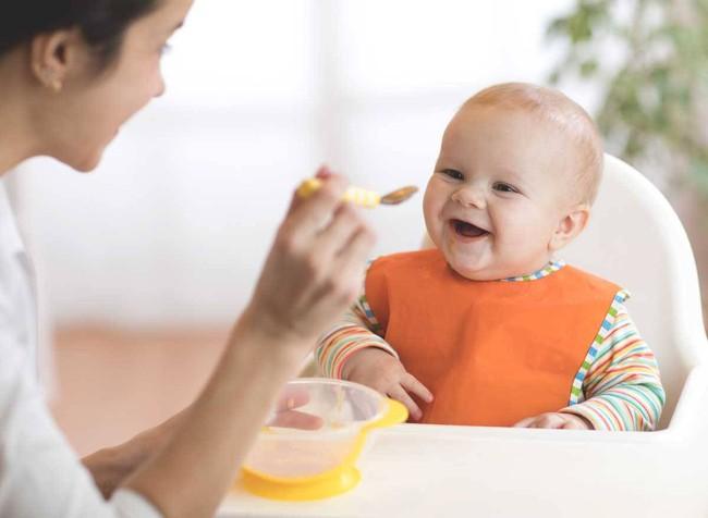 Tại sao trẻ cần ăn dặm ở tháng thứ 6? Mẹ đã biết trẻ 6 tháng ăn được thịt gì chưa? - Ảnh 2.