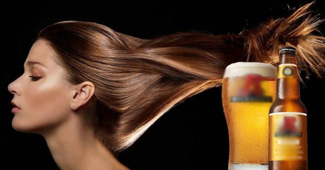 Mẹo ủ tóc bằng bia giúp tóc mềm mượt, chắc khỏe - Ảnh 1.