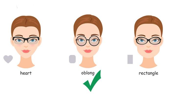 Hướng dẫn chọn kính cận thị phù hợp với khuôn mặt và giới tính - Ảnh 1.