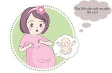 Dấu hiệu sắp sinh mẹ bầu tháng cuối nên ghi nhớ để tránh bất ngờ