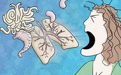 Biến chứng phổi do viêm họng kéo dài