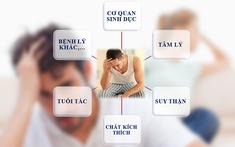 Các bệnh tưởng như không liên quan nhưng lại là nguyên nhân dẫn đến yếu sinh lý ở nam giới