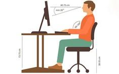 Hướng dẫn tư thế ngồi phòng tránh đau lưng cho dân văn phòng