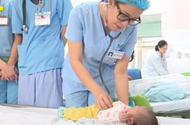 Nhiều trẻ mắc bệnh não thiếu oxy, thiếu máu não cục bộ được cứu sống