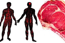 Các dấu hiệu trên cơ thể cho thấy bạn đã ăn quá nhiều thịt