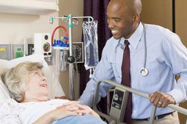 Tư thế nằm cho bệnh nhân đang điều trị tràn dịch màng phổi