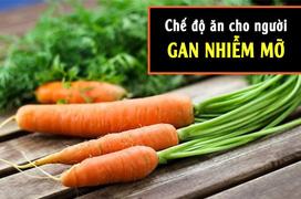 Những thực phẩm mà bệnh nhân mắc gan nhiễm mỡ độ 1 nên ăn