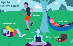 10 giải pháp cho năm mới để giảm căng thẳng