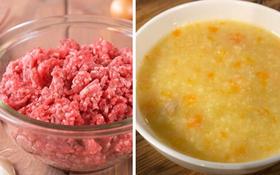 Cách nấu cháo thịt bò cho bé ăn dặm và lưu ý gì khi nấu cháo thịt bò cho bé?