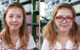Bí kíp bỏ túi cho dân cận thị: Làm thế nào để đeo kính không bị dại mắt?