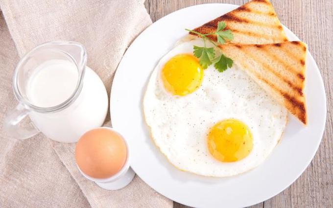 Những loại thực phẩm không nên ăn với trứng