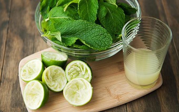 Công thức trà chanh bạc hà chữa bệnh cảm cúm