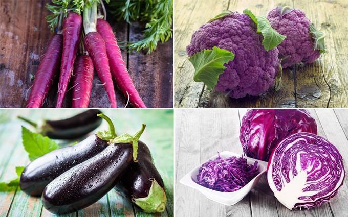 Tác dụng không ngờ của các loại thực phẩm màu tím