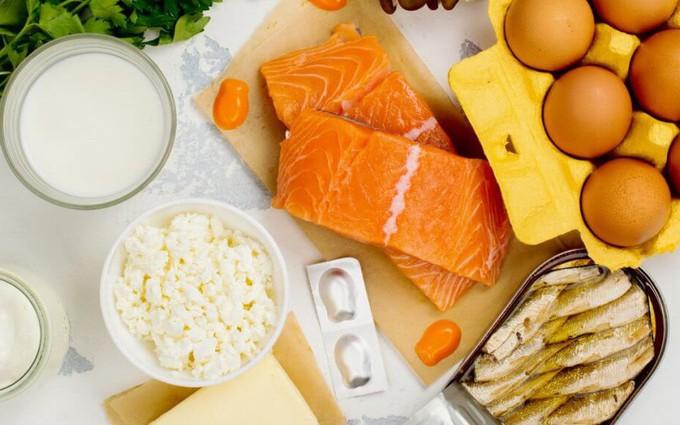 Các loại thực phẩm giàu vitamin D nhất