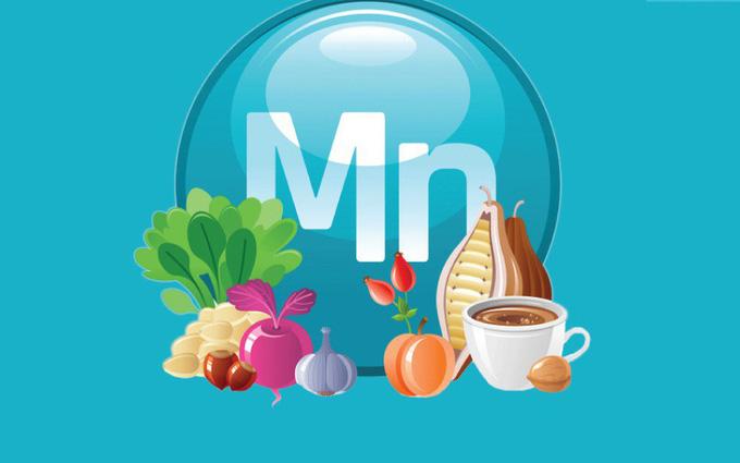 10 vai trò của mangan đối với cơ thể