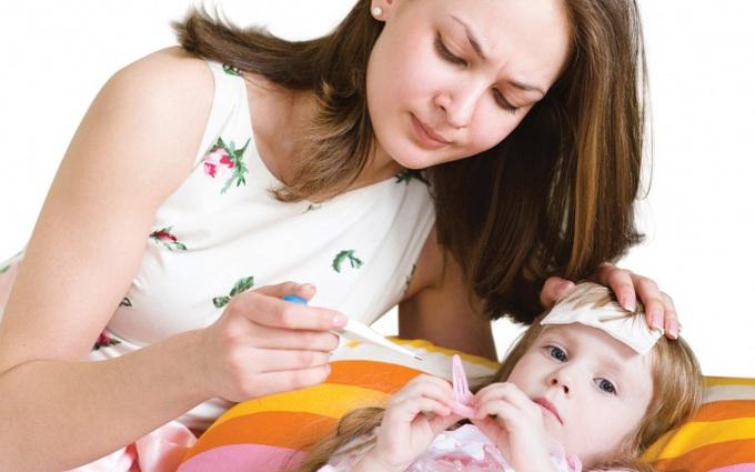 Triệu chứng sốt siêu vi ở trẻ em và cách nhận biết