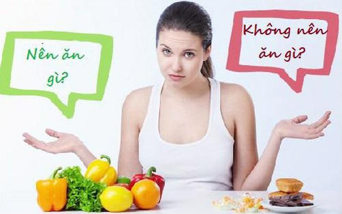 Bà bầu nên và không nên ăn gì khi bị sốt virus?